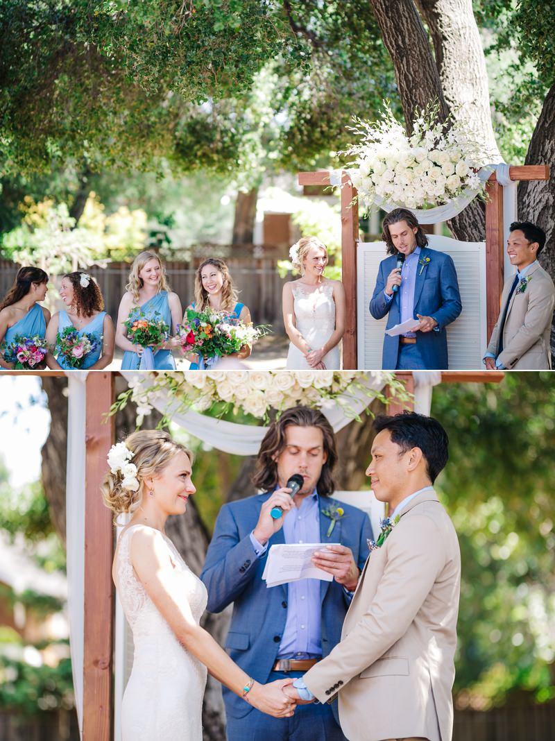 avoid spotlight to get better ceremony photos