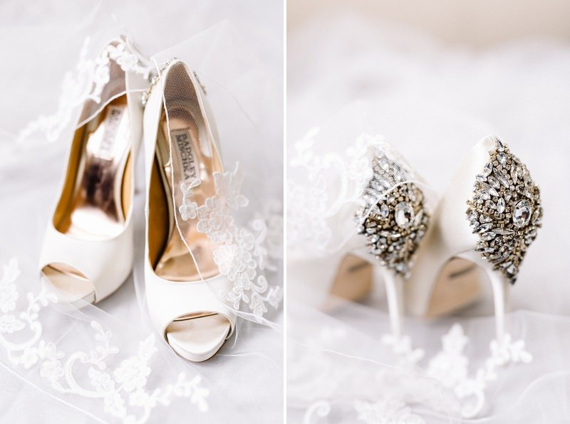 how to prepare your wedding shoes